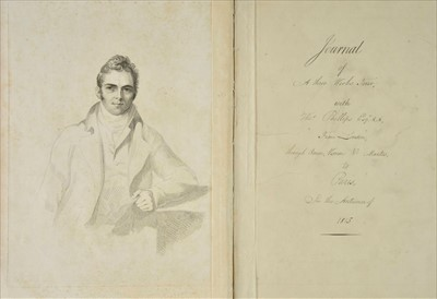 Lot 288 - Turner (Dawson, 1775-1858). Journal of a Three Weeks' Tour, with Thos. Phillips Esqr.