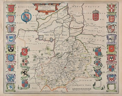 Lot 57 - Maps. A mixed collection of approximately ninety maps, mostly 19th century