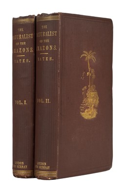 Lot 223 - Bates (Henry Walter). The Naturalist on the River Amazons, 1st edition, 1863