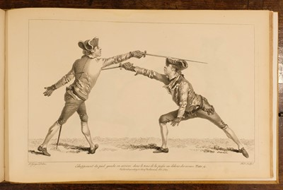Lot 451 - Angelo (Domenico). L'École des Armes ... The School of Fencing, 2nd edition, 1765