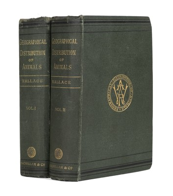 Lot 266 - Wallace (Alfred Russel). The Geographical Distribution of Animals, 1st edition, 1876