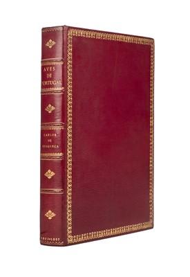 Lot 227 - Carlos I (King of Portugal). Catalogo illustrado das aves de Portugal, 1st edition, 1903-7, signed