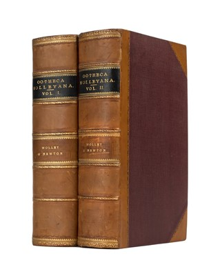 Lot 271 - Wolley (John). Ootheca Wolleyana, 2 volumes, 1st edition, 1864-1907