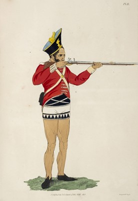 Lot 159 - James (Abraham). The Military Costume of India, 1814
