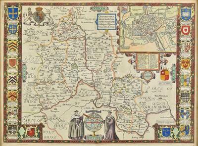 Lot 79 - Oxfordshire. Speed (John), Oxfordshire described..., circa 1627