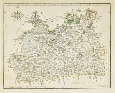 Lot 20-Cary (John). Cary's New and Correct English Atlas..., 1787
