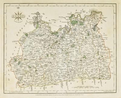 Lot 20 - Cary (John). Cary's New and Correct English Atlas..., 1787