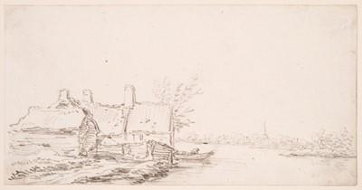 Lot 357-Van Goyen (Jan Jozefsz., 1596-1656).