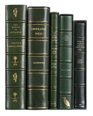 Lot 246 - Meinertzhagen (Richard). Birds of Arabia. Edition De Luxe, 1980, & 4 others
