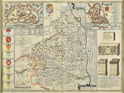 Lot 69 - Northumberland. Speed (John), Northumberland, 1st edition, circa 1611
