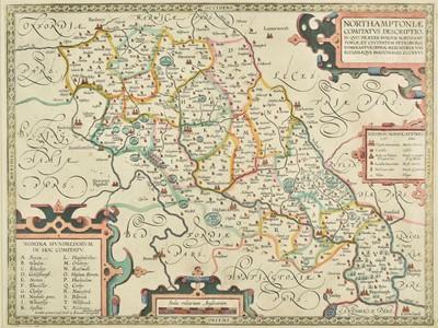 Lot 67 - Northamptonshire. Smith (William), Northamptoniae Comitatus Descriptio....., circa 1675