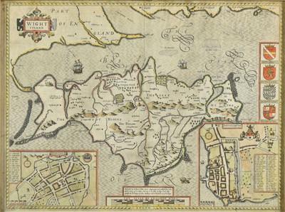 Lot 50 - Isle of Wight. Speed (John), Wight Island, circa 1627