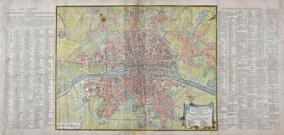 Lot 80 - Paris. Jaillot (Bernard Jean Hyacinthe), Plan de la ville..., de Paris..., 1715 or later