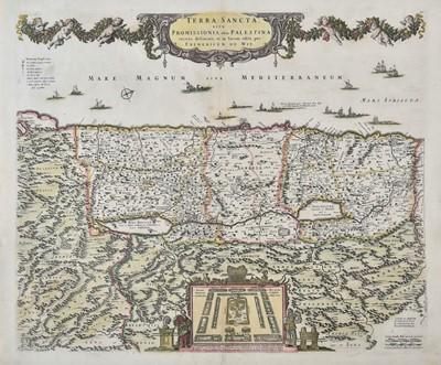 Lot 49 - Holy Land. De Wit (Frederick), Terra Sancta sive promissionis..., circa 1680