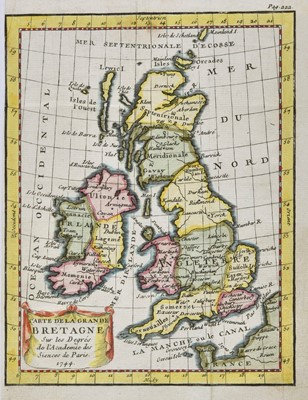 Lot 8-British Isles. A collection of twelve maps, mostly 18th century