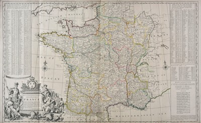 Lot 38-France. Moll (H), A New and Exact Map of France..., circa 1710