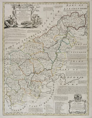 Lot 21 - Cary (John). Six county maps, 1801 and later
