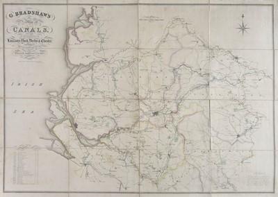 Lot 19 - Canal Maps. Bradshaw (G.), Two canal maps, circa 1829