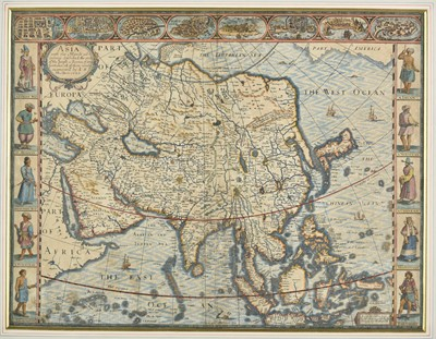 Lot 1-Asia. Speed (John), Asia with the Islands adjoining..., circa 1627