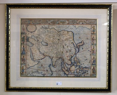 Lot 1 - Asia. Speed (John), Asia with the Islands adjoining..., circa 1627