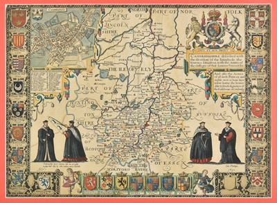 Lot 18 - Cambridgeshire. Speed (John), Cambridgshire described..., 1611 or later
