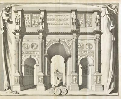 Lot 378 - Scamozzi (Vincenzo). Oeuvres d'Architecture, Leiden, 1713