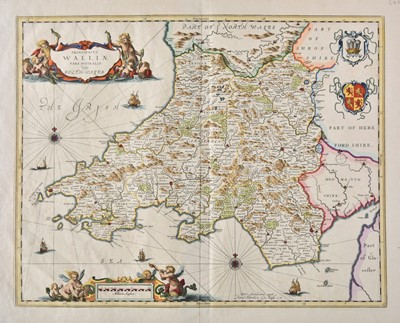 Lot 5 - British county maps. A good mixed collection of approximately thirty maps, 17th - 19th century