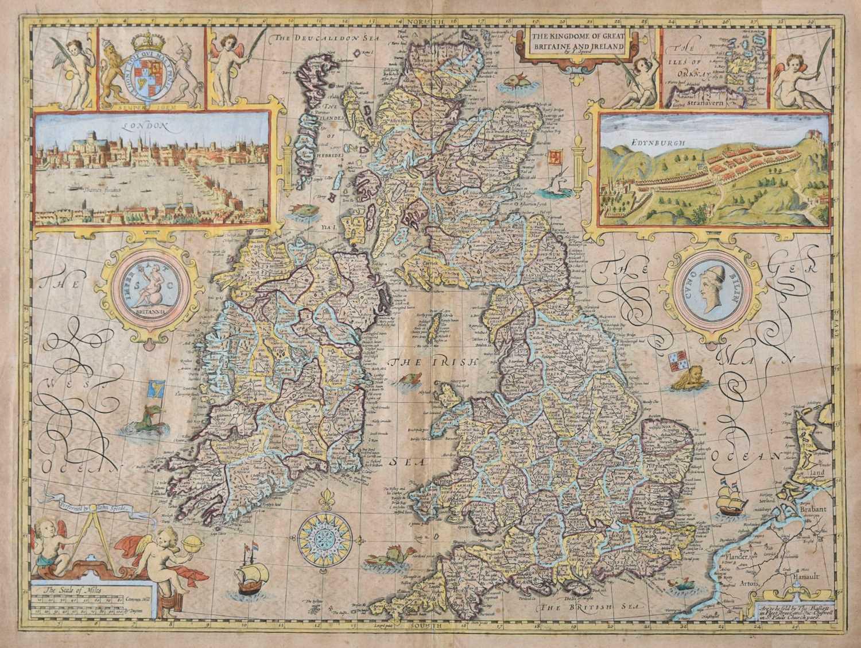 Lot 15-British Isles. Speed (John), The Kingdom of of Great Britaine and Ireland, 1676