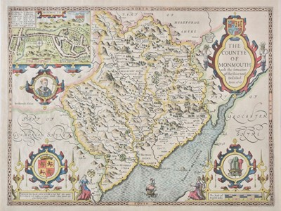 Lot 63 - Monmouthshire. Speed (John), The Countye of Monmouth..., circa 1627
