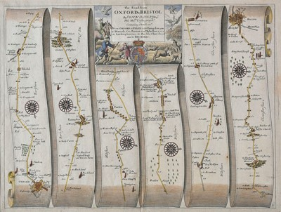 Lot 74 - Ogilby (John). The Road from Oxford to Bristol, 1675 or later