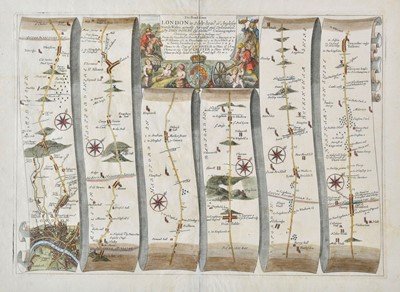 Lot 73 - Ogilby (John). The Road from London to Holy-head co. Anglesey, circa 1675