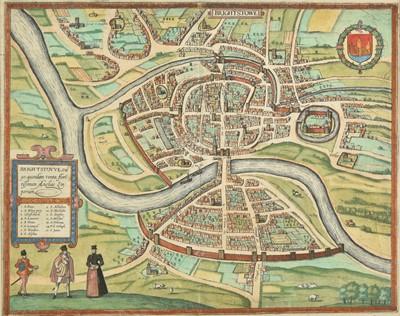 Lot 4 - Bristol. Braun (Georg & Hogenberg Frans), Brightstowe, 1581