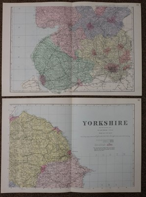 Lot 56 - Maps. A mixed collection of approximately ninety maps, mostly 19th century