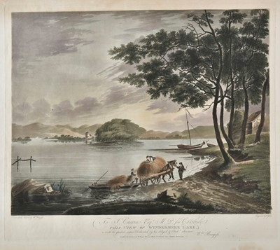 Lot 304 - Lake District. Dukes (Francis, 1747-1812). Views of the Lake District, 1793 and later
