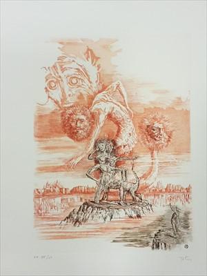 Lot 383 - Totero (Antonio, illustrator). La Metamorphose , by Franz Kafka, 1975, Paris