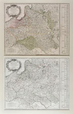 Lot 87 - Poland. De Vaugondy (Robert), Le Royaume de Pologne, Paris, 1767