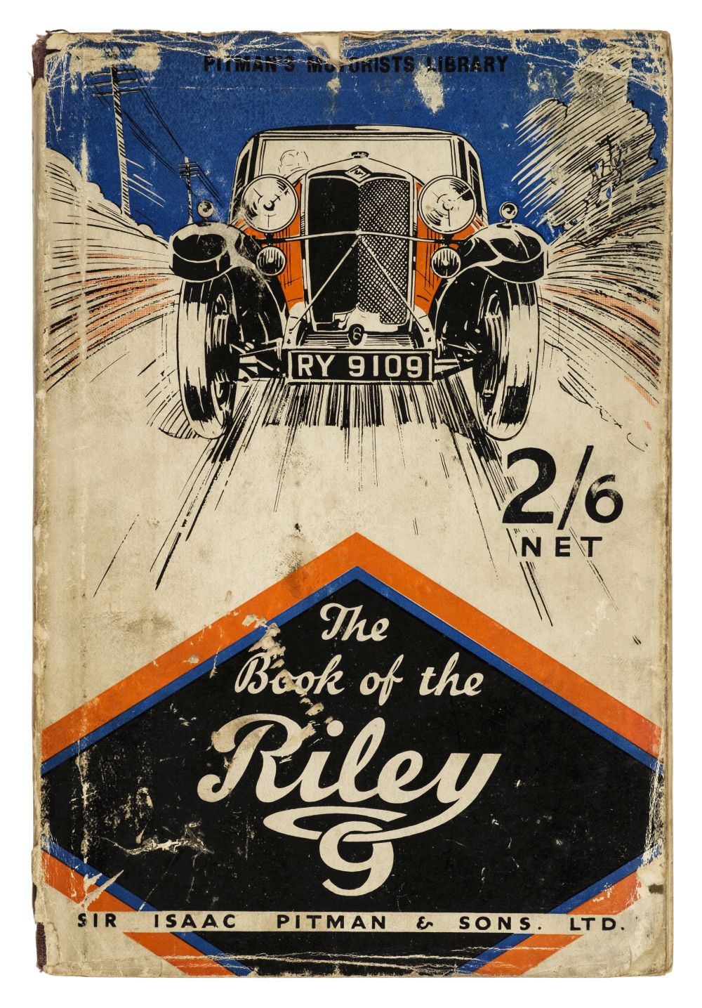 Riley Motors. The Book of the Riley Nine, by R.A. Blake, 1933