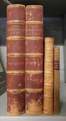 Lot 372 - Prendeville (James). Photographic Facsimiles of the Antique Gems, 1st & 2nd series, 1859