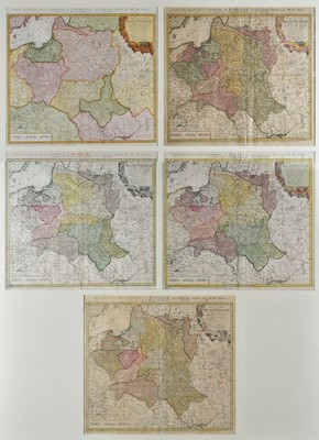 Lot 90 - Poland. Homann (Johann Baptist, heirs of), Mappa Geographica Regni Poloniae, 1773