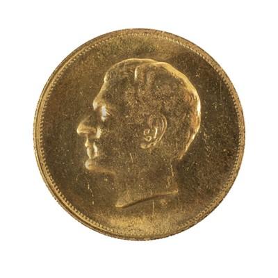 Lot 47 - Iran. Mohammad Reza Pahlavi, 1965, commemorative gold coin
