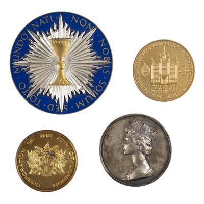 Lot 45 - Elizabeth II. 1977 Jubilee silver commemorative medal