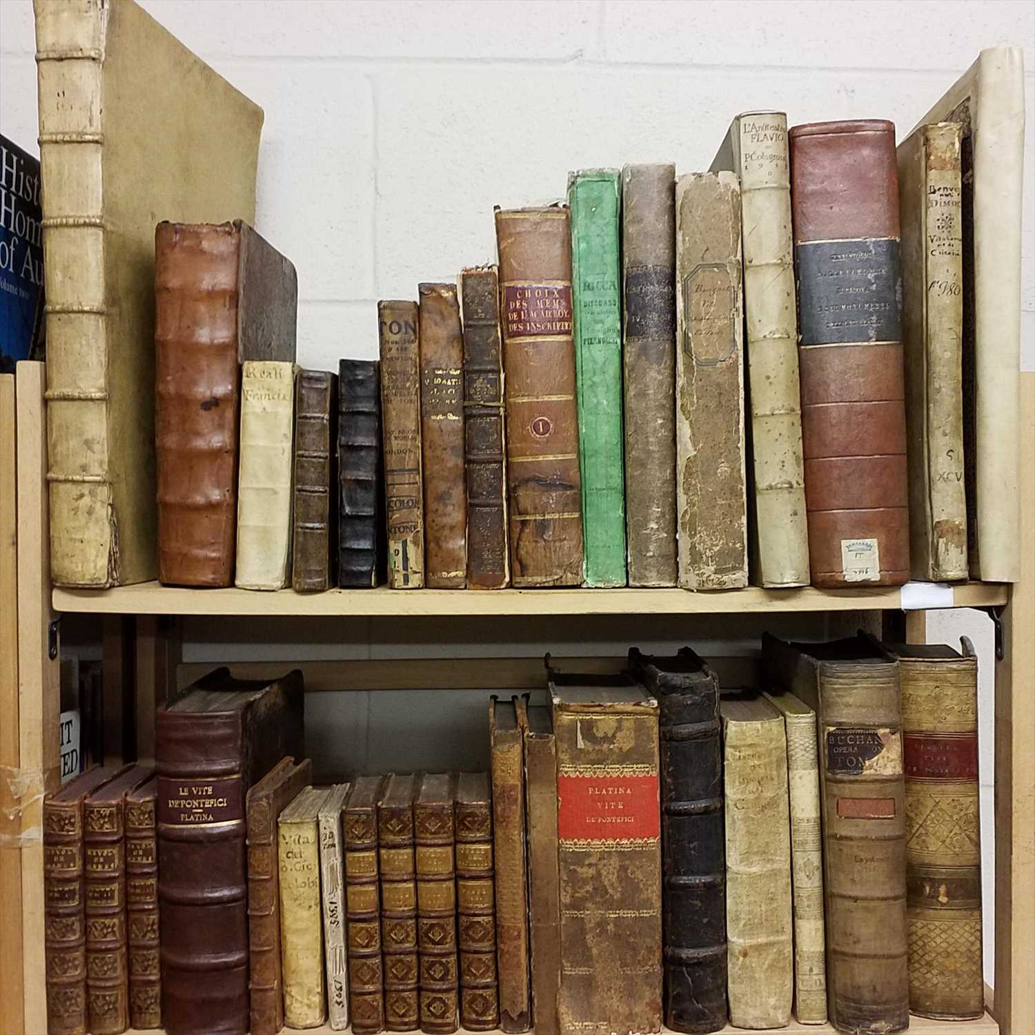 Lot 873 - Antiquarian. A collection of 17th & 18th century Latin reference
