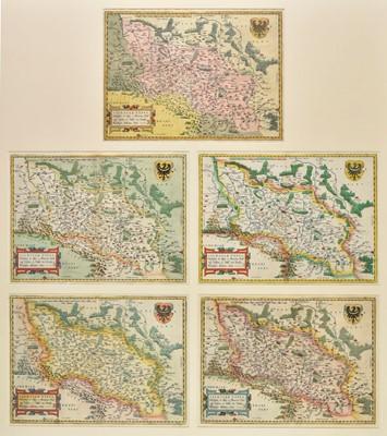 Lot 96 - Poland. Ortelius (Abraham). Silesiae Typus descriptus et editus a Martino Heilwig..., circa 1580