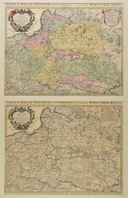 Lot 85 - Poland. De L'Isle (Guillaume), Estats de la Courone de Pologne..., circa 1740