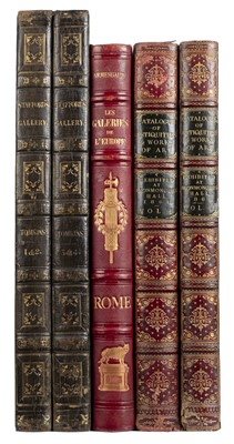 Lot 367 - Ottley (William Young). Engravings of ... Marquis of Stafford's Collection, 4 vols. in two, 1818