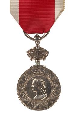 Lot 38 - Abyssinia 1867 Medal - Stoker W.J. Clarke, HMS Satellite
