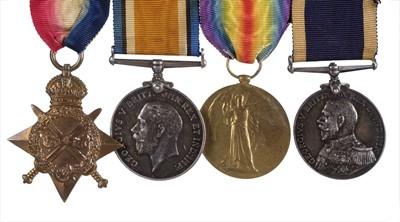 Lot 29 - WWI Naval Medals - Royal Marine Light Infantry