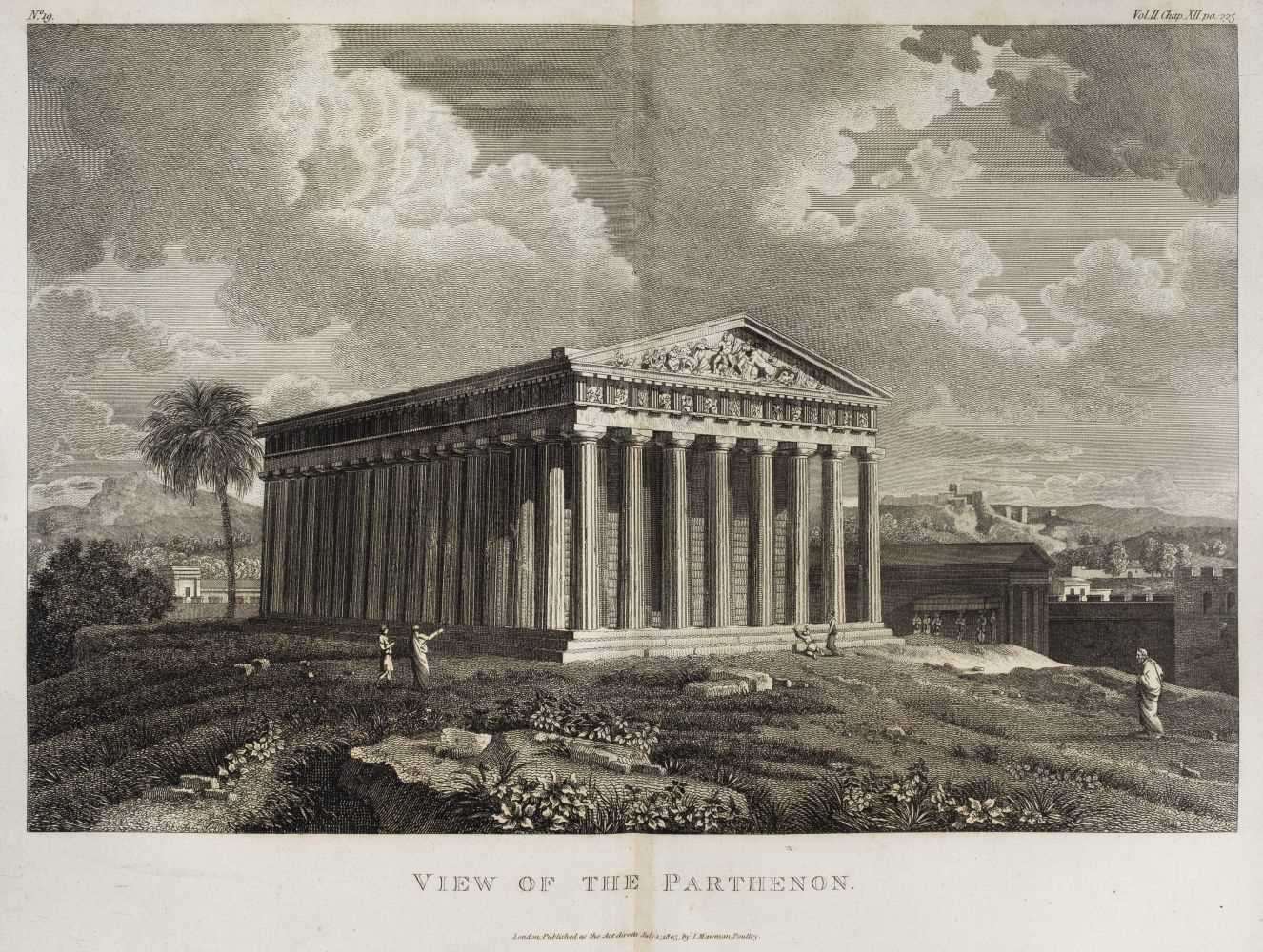 Lot 1 - Barthélemy (Jean Jacques). Travels of Anacharsis the Younger in Greece, 1806