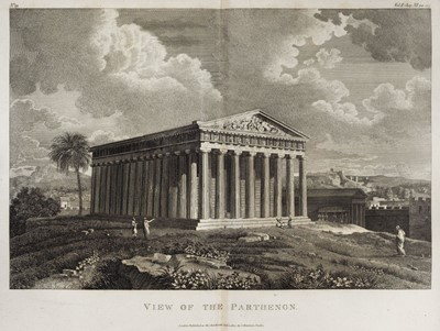 Lot 1-Barthélemy (Jean Jacques). Travels of Anacharsis the Younger in Greece, 1806