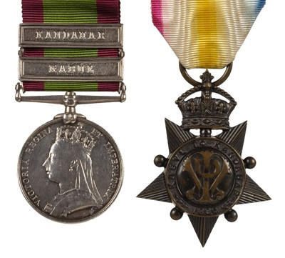 Lot 15-Afghanistan Medals - Private Morgan, 9th Lancers